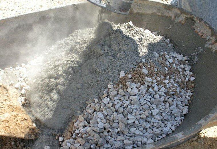 из чего сделан бетон